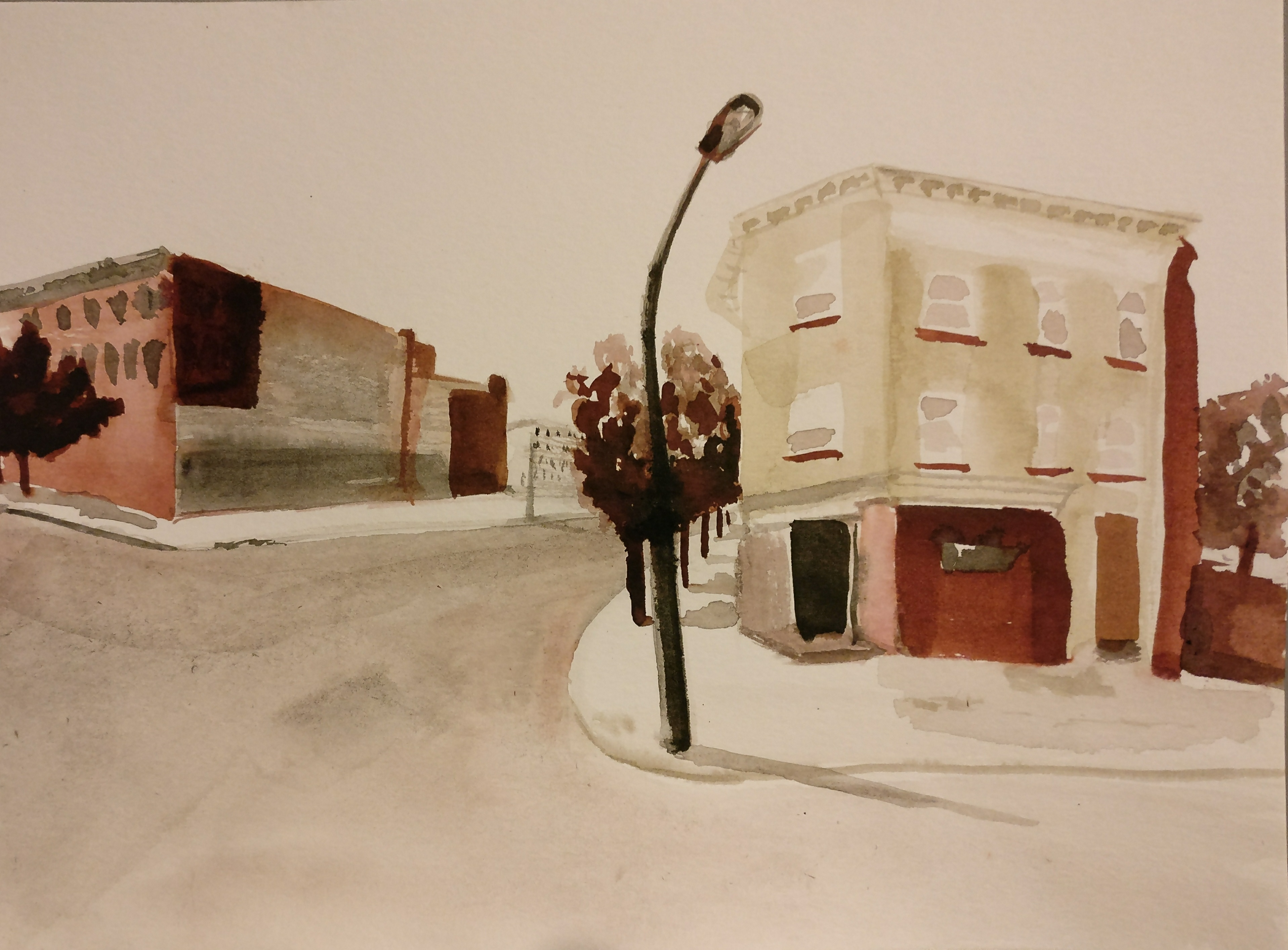 Freddie Gray. Stop 2: N. Fremont Ave. & Mosher St, Baltimore